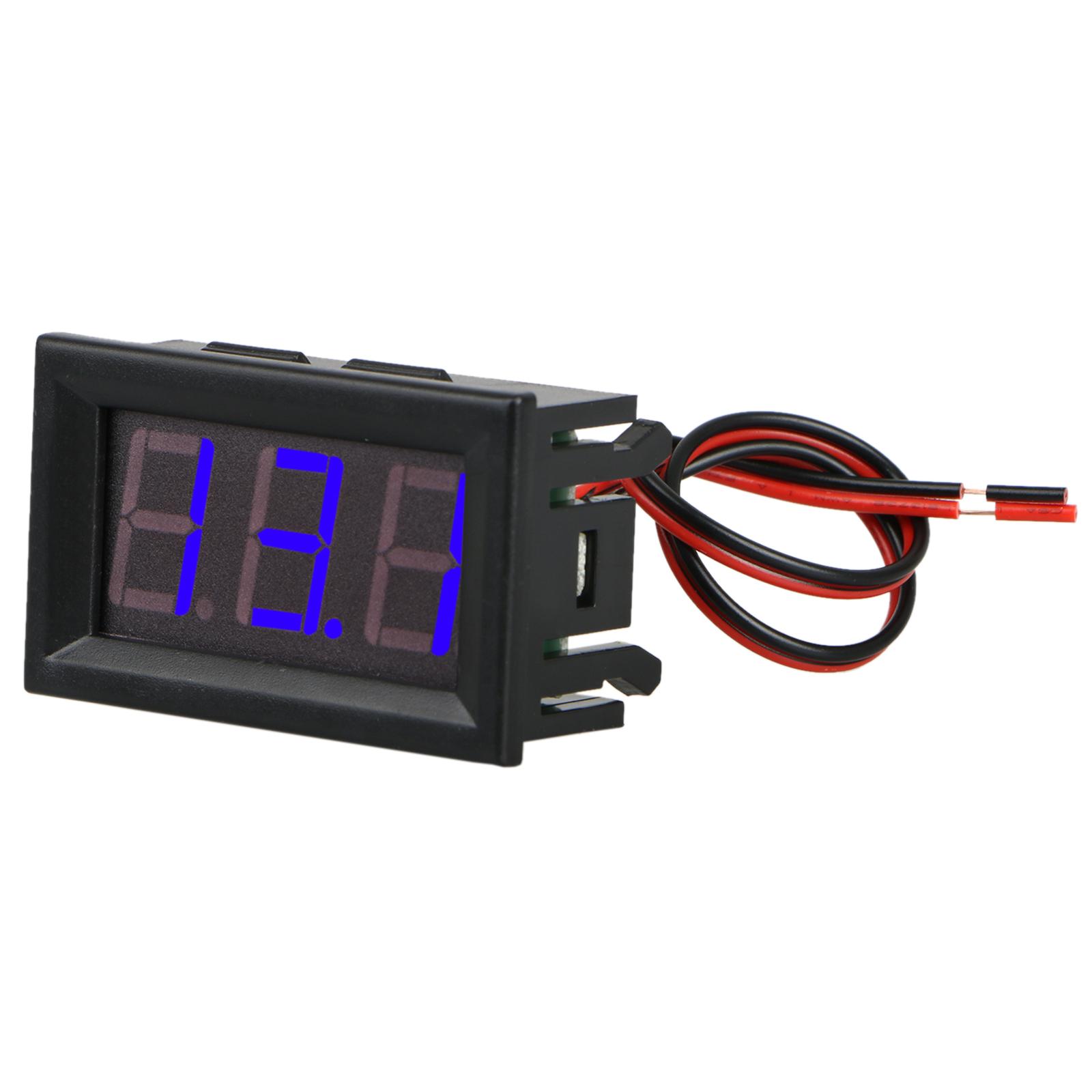 Dc 3 30v 2 Wire Led Digital Display Panel Volt Meter Voltage 2wire Wiring A Potentiometer