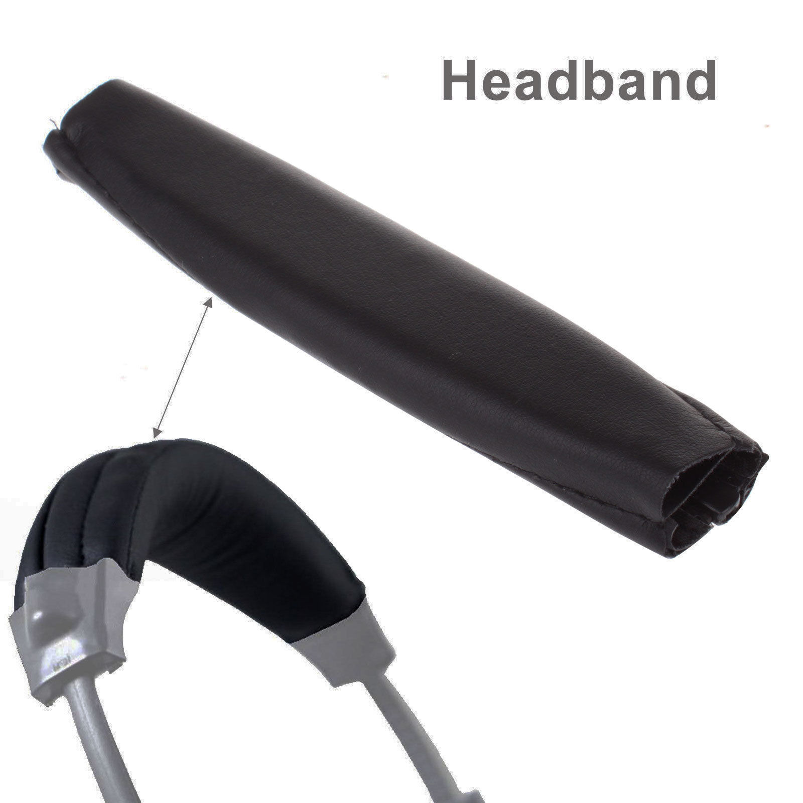 Replacement-Ear-Pads-Cushion-Audio-Cable-Cover-for-Bose-QC15-QC25-QC35-Headphone thumbnail 8