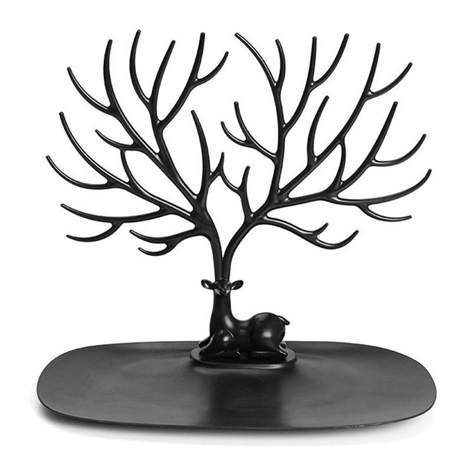 Jewelry Deer Tree Stand Display Organizer Necklace Ring Earring